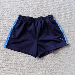 PUMA ATHLETIC SHORTS NAVY BLUE